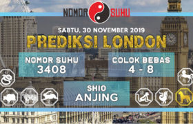 Prediksi Suhu Togel London Pools 30 November 2019 Hari Sabtu